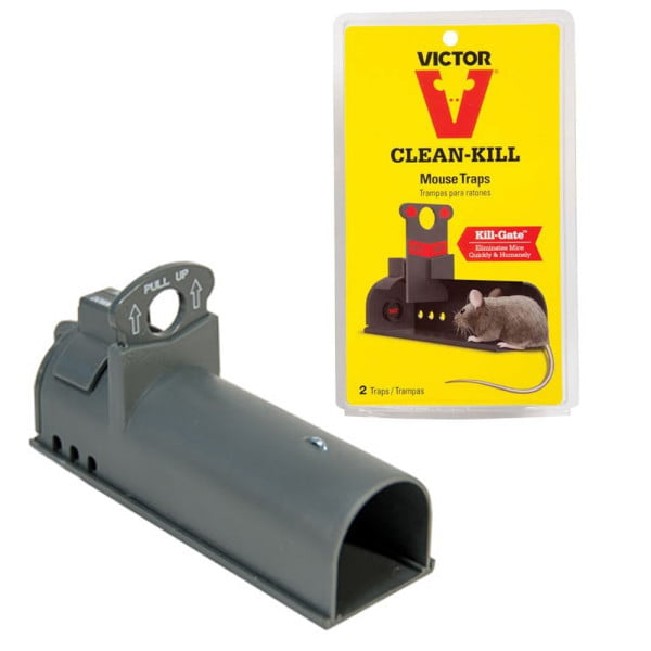 Victor Clean-kill muizenval 2 stuks