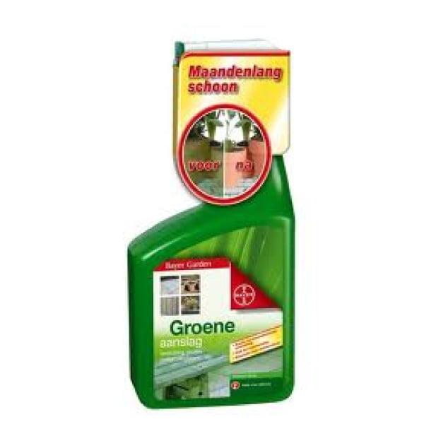 Bayer Dimanin Spray tegen groene aanslag