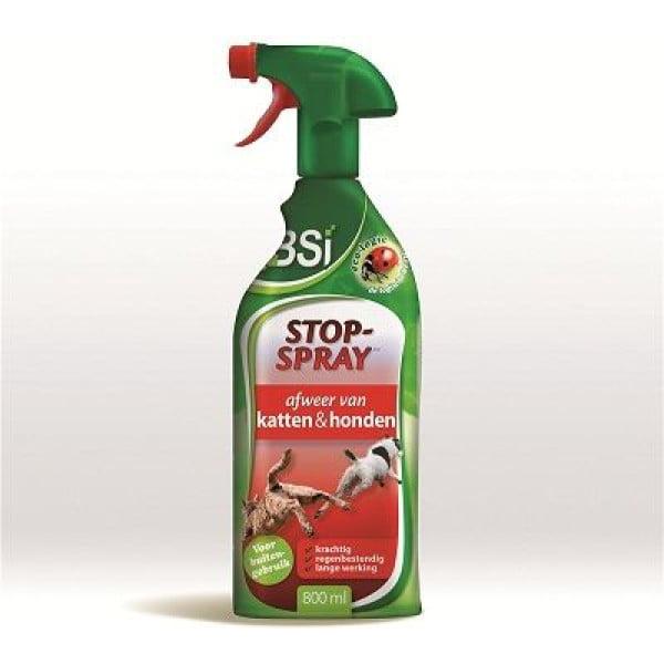BSI Stop hond & kat Spray - afweerspray voor buiten