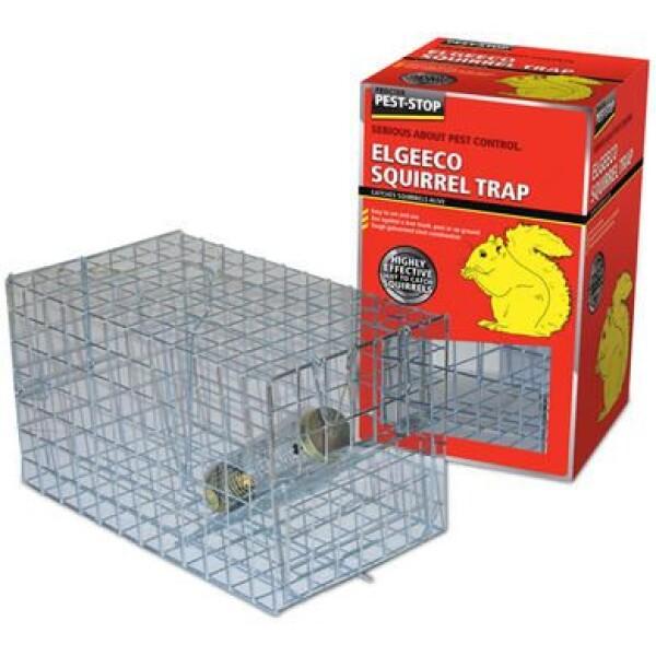 PEST-STOP Eekhoorn vangkooi met voederstation