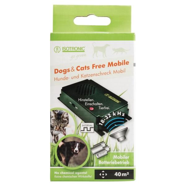 Isotronic honden en katter verjager op batterijen.