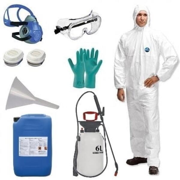 Houtwormbestrijdingspakket - Perfacs - 10 Liter - 80m2