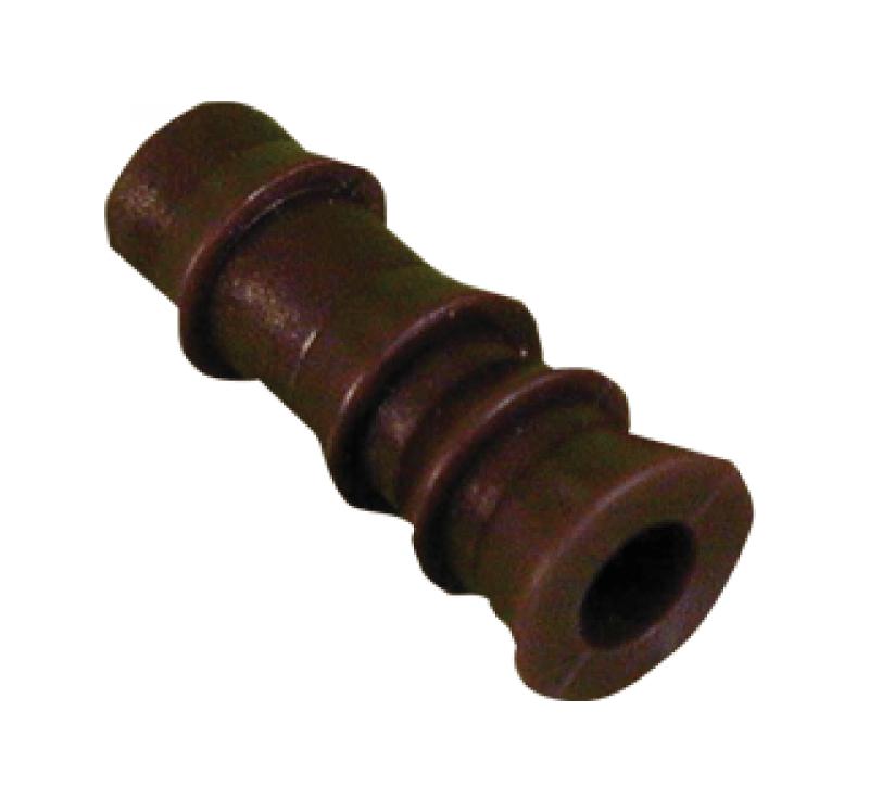 Houtinjectie pluggen bruin 9.5mm 25st.