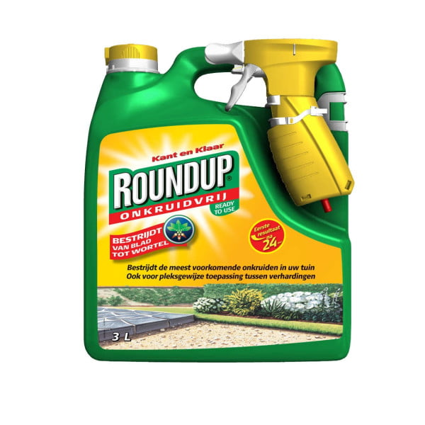 RoundUp kant & klaar spray 3l.