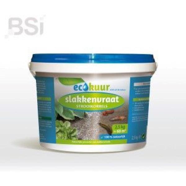 Ecokuur Slakkenvraat Strooikorrels 2.5 kg
