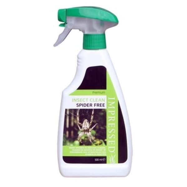 Impressed spray tegen spinnen en insecten.