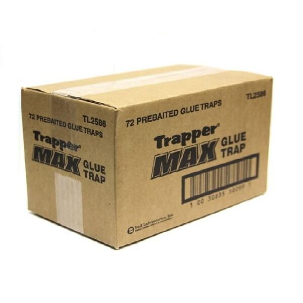 Muizen lijmplank Bell Trapper Max - 72 stuks -Voordeelpakker