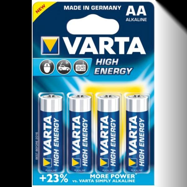 VARTA batterijen AA penlite 4 stuks