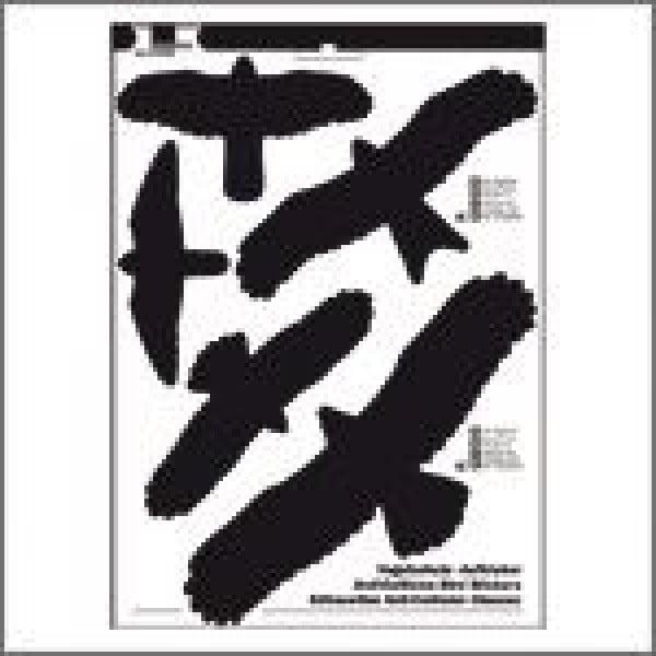 Anti-inslag stickers vogels 5st.