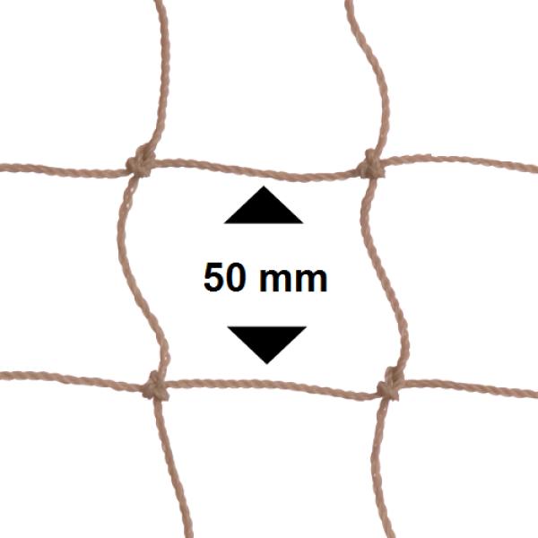 Vogelnet Doorzichtig (wit) - 5x2 meter - maaswijdte 50mm