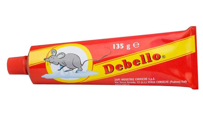 Zapi Debello rat en muizenlijm 135g