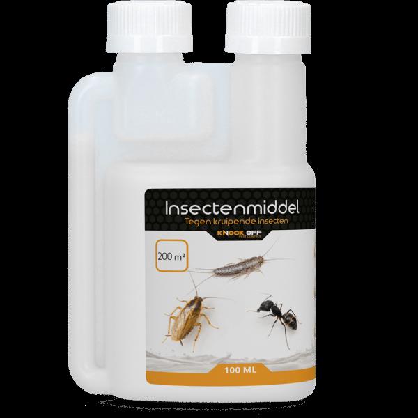 Knock Off Insectenmiddel tegen kruipende insecten - 100 ml (200m2)